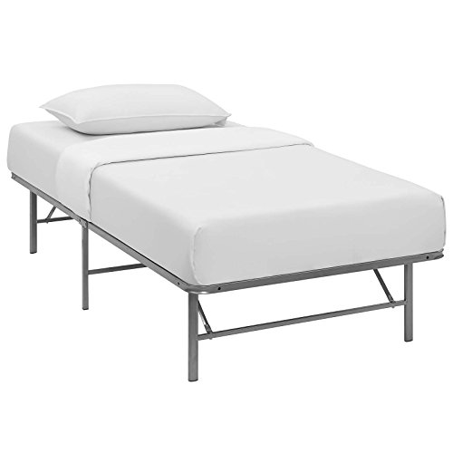 horizon twin stainless steel bed