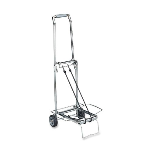 Sparco Compact Luggage Cart, 150 lbs., Capacity, Open 14-3/4 x 13-3/4 x 35 Inches, CE (SPR01753)