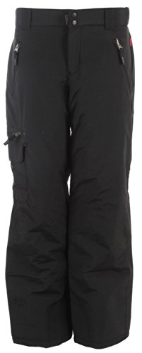 House Snowboard Pants (Exposure Project Brenda Cargo Insulated Snowboard Pants Black Womens Sz M)