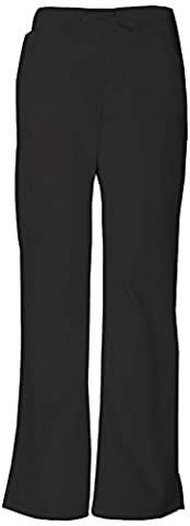 Everyday Scrubs Signature by Dickies Women's Mid Rise Drawstring Cargo Pant X-Large Tall Pumpkin - Dickies Tall Pants