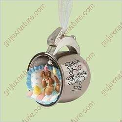 (Baby's 1st First Christmas - Silver Cup 2004 Hallmark Ornament Qxg5731 by Hallmark)