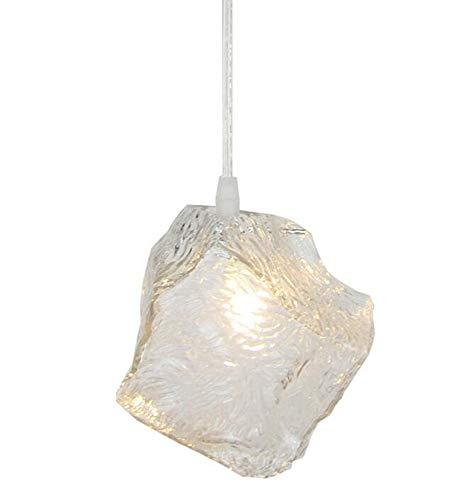 Glass Cube Pendant Light in US - 7