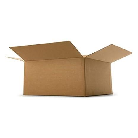 A4 embalaje cajas de cartón infectología 12 x 9 x 22,86 cm maloclusión B flauta nueva, color blanco: Amazon.es: Oficina y papelería