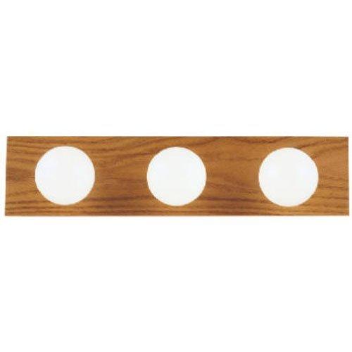 Westinghouse Bathroom Bar Fixture A19 2-3/4 In. Polished Brs Bx 3 Light