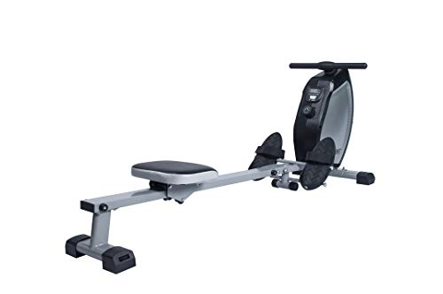 EFITMENT Magnetic Rowing Machine Rower for Home Exercise w/Digital Monitor, 250 LB Weight Capacity, 40 Inch Rail Length - RW025