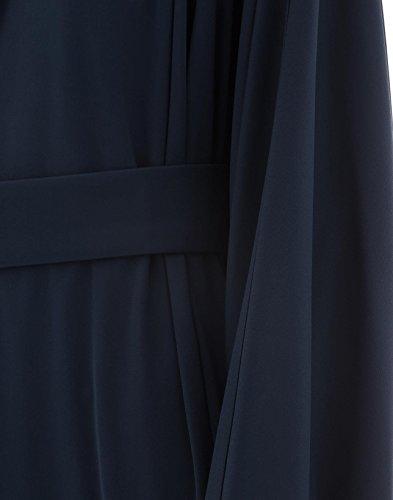 Kleid Gianluca Blau 18EA153550503 Damen Acetat Capannolo wq1qZgABX