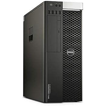 Dell Precision T5810 Workstation Server,Xeon E5 1620 v3 3 5GHz, 256GB  SSD+4TB HDD, 64GB RAM, 11GB Nvidia GeForce GTX 1080 Ti 4K VR Ready, USB  3 0,