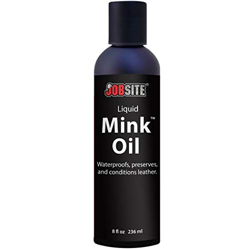 (JobSite Premium Mink Oil Leather Waterproof Liquid - 8)