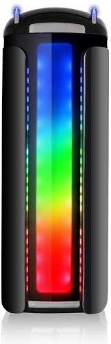 Thermaltake CA -1G9-00M1WN- 00 Versa C22 Mid Tower Case with Side Window and RGB LED -Black