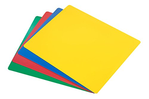 Commercial Grade Cutting Board Mats - 4 Color Set, 15 x 12 Inch NSF ()