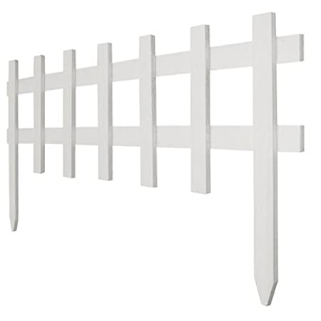 white picket fence. Amazon.com : DEFLECTO RC 75W 18 By 3\ White Picket Fence