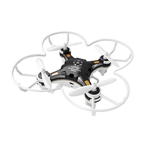FQ777-124 Pocket Drone 4CH 6Axis Gyro Drone Quadcopter with Switchable Controller RTF - Black