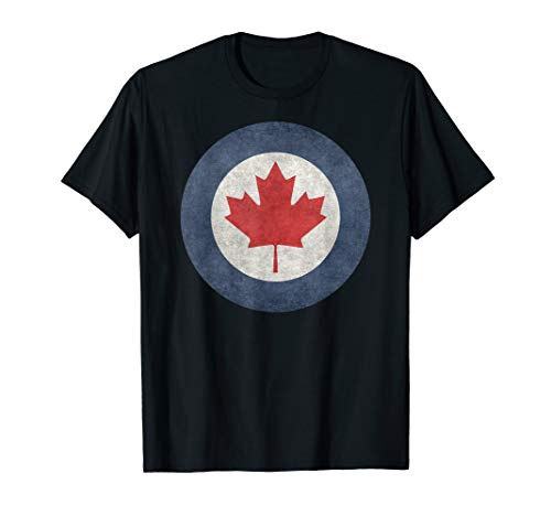Canada Roundel Emblem in vintage grungy ()