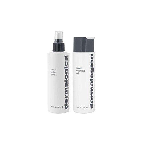 Dermalogica Cleanse & Tone Duo - Normal/Dry Skin (2 Products) - ダーマロジカクレンジング&トーンデュオ - ノーマル/ドライスキン(2製品) [並行輸入品] B0716CDF3K