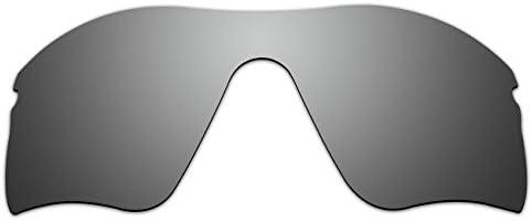 c56536dc1b aCompatible lentes de repuesto para Oakley Radar Range gafas de sol,  titanio (Titanium - Polarized)
