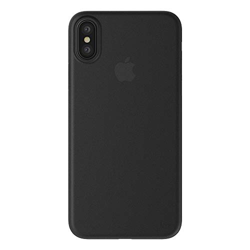 まろやかな戦う過度のiPhone Xs iPhone X ケース 薄型 0.35mm シンプル デザイン 極薄 スリム ハード カバー SwitchEasy 0.35 [ Apple iPhoneXs iPhoneX アイフォンXs アイフォンX ] ウルトラブラック
