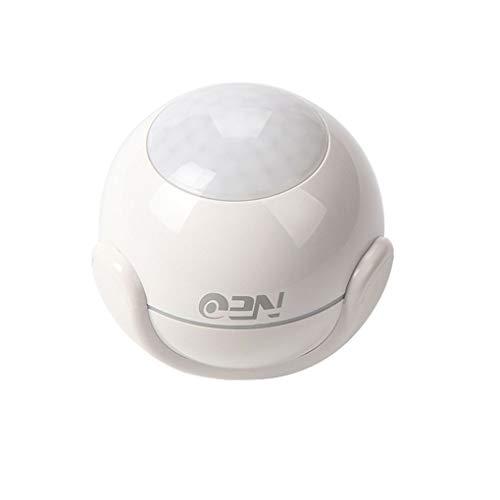White NEO Wi-Fi PIR Motion Sensor with Motion Detection APP Alarming
