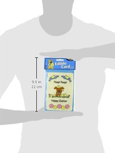 Image of Crunchkins Crunch Edible Card, Peep Peep Happy Easter