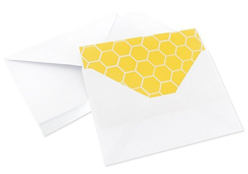 48 Pack All Occasion Assorted Blank Note Cards Greeting Cards Bulk Box Set -  6 Honey Bear Designs - Blank on the Inside Notecards with Envelopes Included - 4 x 6 Inches by Best Paper Greetings (Image #4)