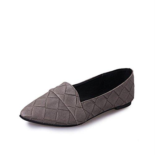 a profondo scarpe semplice donna da Scarpe six donna piatto casual punta casual Thirty poco da fondo t1H8qx7