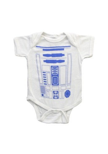 R2d2 Star Wars Costume Infant Baby Romper Snapsuit