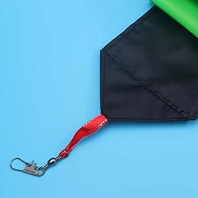 LIOOBO Kite Tail Green Streamer Kite Tail Flat Ribbon 10m: Health & Personal Care