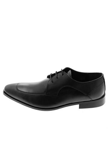 Vertigo , Chaussures de ville à lacets pour homme Noir Noir 45