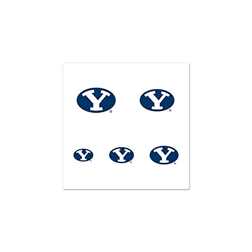 UPC 032085738233, BYU Cougars Official NCAA 1 inch Fingernail Tattoo Set