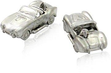 Shelby Cobra Cufflinks Convertible Race Car Cuff Links