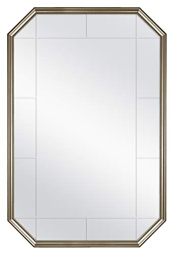 MCS Georgian Revival Grooved Wall Mirror, 24 x 36 Inch, Golden ()