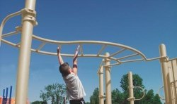 Sport Play 511-151P S Horizontal Ladder by Sports Play Equipment