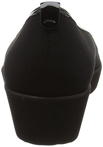 Gabor Shoes Comfort, Bailarinas para Mujer Negro (schwarz 87)
