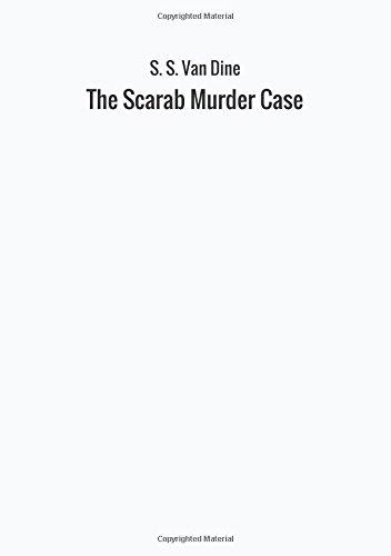Download The Scarab Murder Case ebook