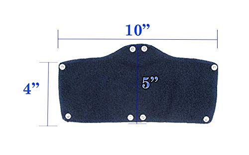 20 Pack Best Hard Hat Sweatband Navy Blue Washable Snap On Sweat Band Liner Safety Accessories
