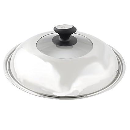 Amazon.com: eDealMax superior de cristal de cocina de acero ...