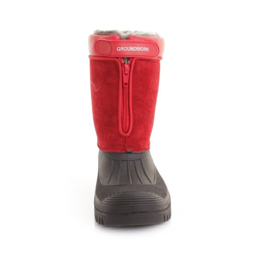 Aperto Stivaletto All' Invernale Muck Red Sconosciuto Giardino 8aqwf