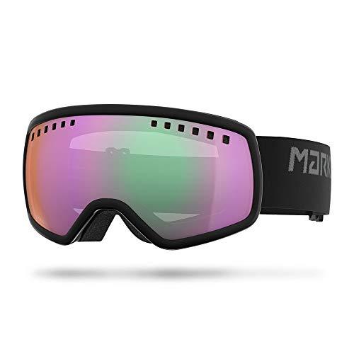 Marker 2019 16:9 Black Goggles w/Clarity Mirror Lens