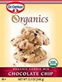 European Gourmet Bakery Organic Chocolate Chip Cookie Mix, 12.3 Ounce - 12 per case.