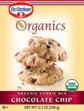 European Gourmet Bakery Organic Chocolate Chip Cookie Mix, 12.3 Ounce - 12 per case.