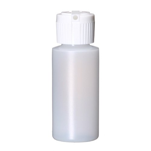 Bargz Empty Plastic Bottles - Refillable Plastic Cylinder - Bulk - 1 oz Pack of - Magnetic Standard Applicator