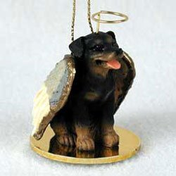 - Christmas Ornament: Rottweiler