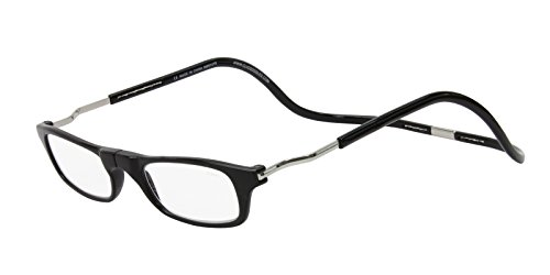 CliC Magnetic Closure Reading Glasses XXL with Adjustable He