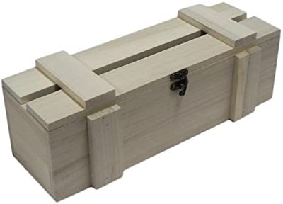Caja de madera para botella de vino, caja de almacenamiento, sin ...