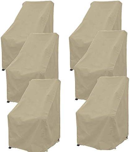ファニチャー カバー 家具カバー 防塵 パティオカバー 防水 屋外 家具ラウンジポーチ ソファチェア プロテクティブロベシートカバー耐久性 雪 雨 防水防塵防風 420Dオックスフォード シバオ (Size : 600D107*76*69cm)