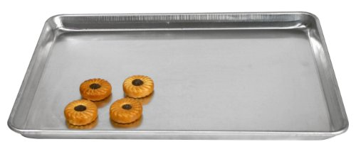 Paderno World Cuisine 26-Inch by 18-Inch Full-size Aluminum Bun Pan