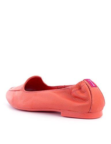 Titi Couture Damen Mocasin Halbschuhe Rot (Korallenrot)