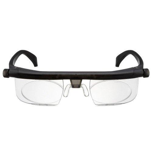 Adlens Glasses - Adjustable Focus Eyeglasses - Variable Focus Instant Prescription – Innovative Power Optics Technology - Great for Reading – For Seniors Women & Men Distributed Americana (Varifocal Lens Stand)