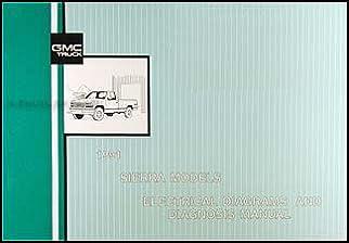 1991 gmc c k sierra pickup wiring diagram manual 1500 2500 3500 gmc rh amazon com