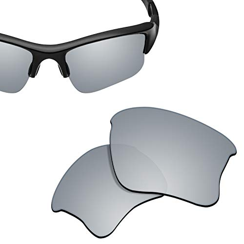 New 1.8mm Thick UV400 Replacement Lenses for Oakley Flak Jacket XLJ OO9009 Sunglass - ()