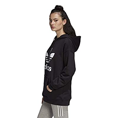 adidas Originals Women's Trefoil Hoodie Sweatshirt at Women's Clothing store